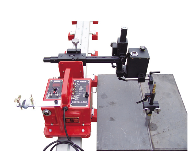 Small HGK-200 Mini Rail Weaving welding carriage image