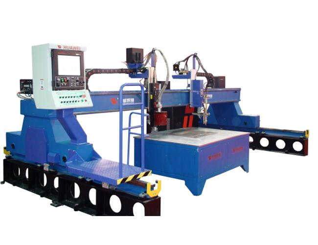 Small HNC-4000 True Hole HD high definition precision CNC plasma cutting machine image