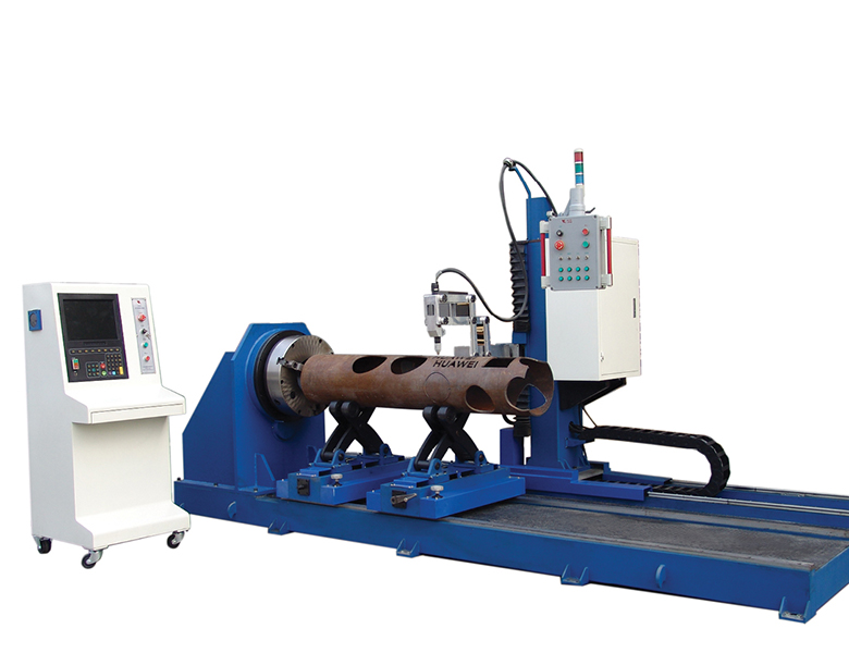 Small XG Model 6 Axis 3D pipe cnc profiling shape cutting machine image