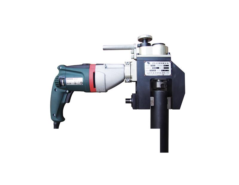 Small ZPK Model Portable pipe end prep beveller cold cut machine image