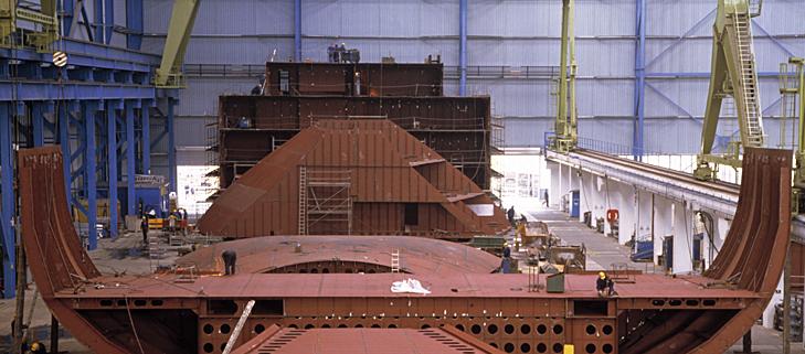 معدات بناء السفن� السفن لبناء السفن
