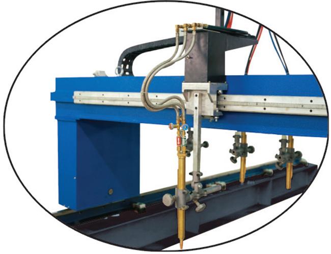 Small CG1-4000 Multi Torch Straight Strip Plate Cutting Machine image