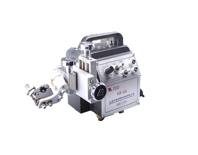 Small HK-4A Portable Mini Side Suction Welding Tractor Plate Stitch Weld Machine image