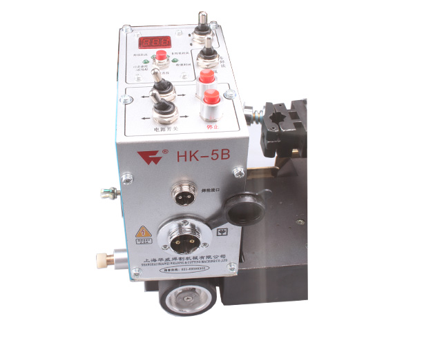 Small HK-5B Continuous / Incontinuous Interval Time Welding Tractor for Fillet Seam image