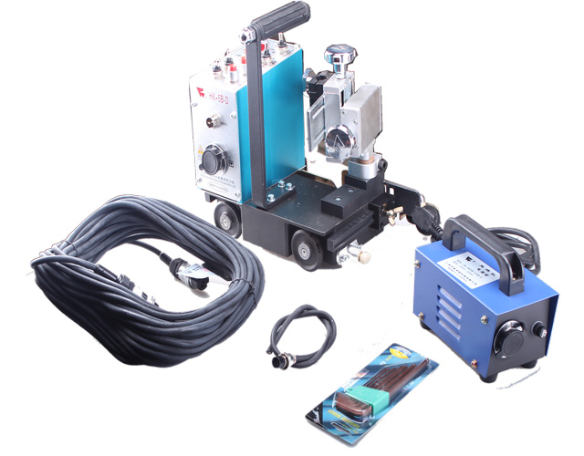 Small HK-5B-D auto welding carriage for flat groove weld image