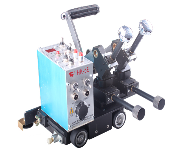 Small HK-5E portable double two torch auto welding carriage image