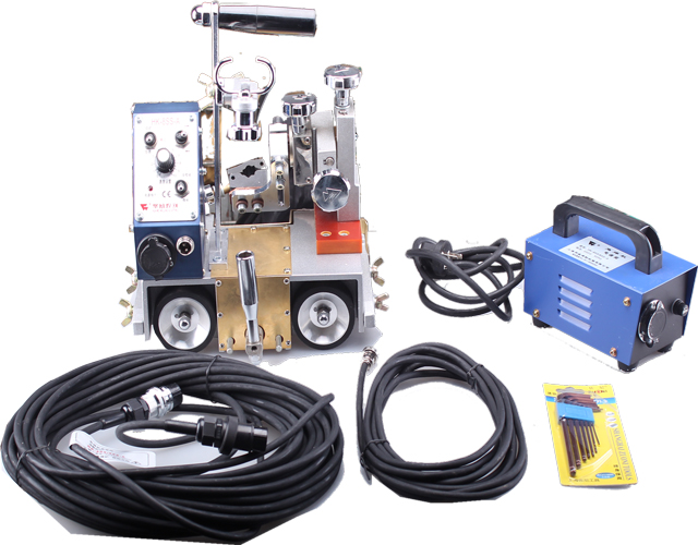Small HK-8SS-A Portable automatic magnet welding tractor image