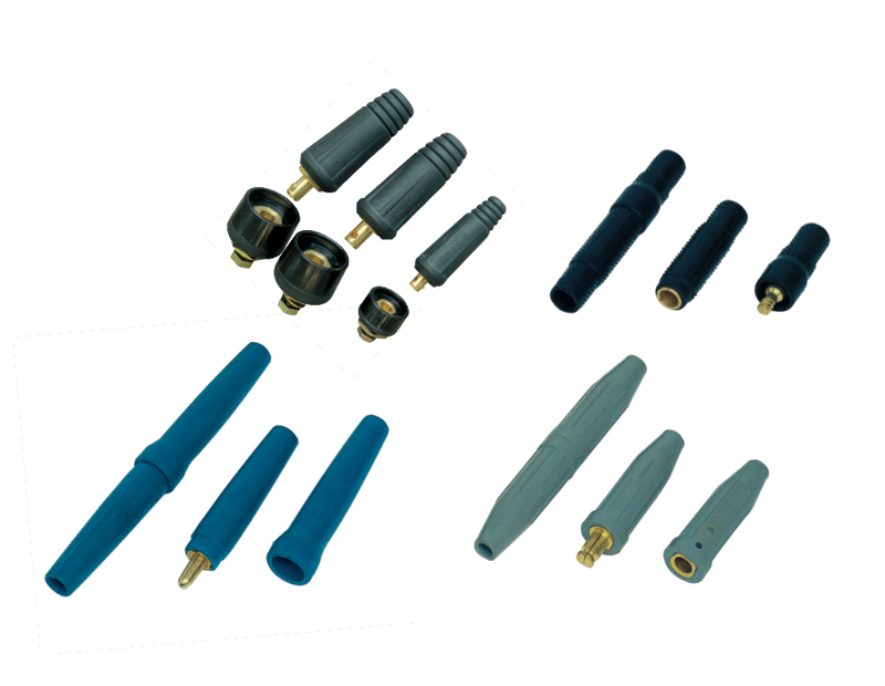 Small HW series welding cable coupler image