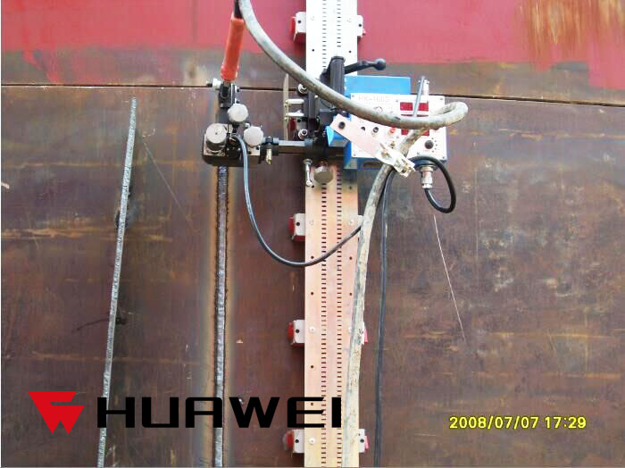 Hk 100s Flexible Rails Track Pipe Tank Welding Tractor