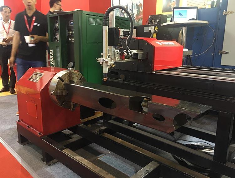 Tubo cuadrado máquina de corte CNC