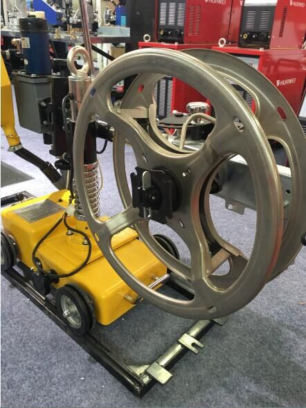 Small HMZ-1000 Automatic Submerged Arc welding tractor carriage machine image