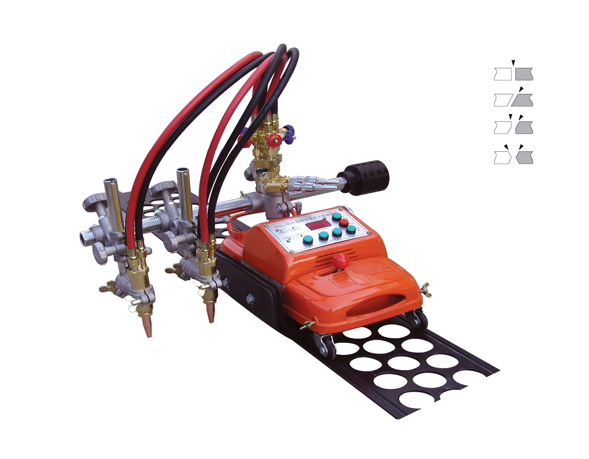 Small CG1-100A steel gas cutting machine image