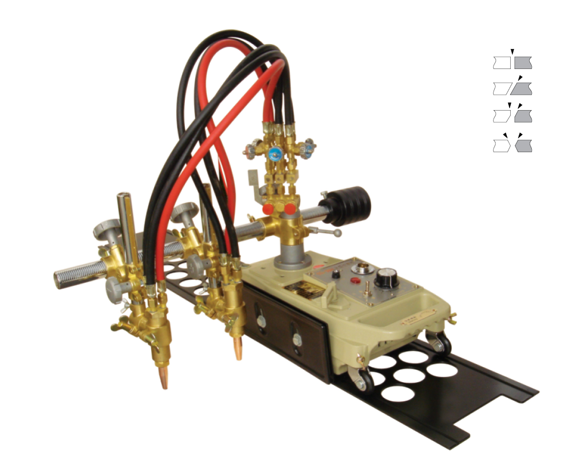 Small CG1-100H Gas/Oxygen/Flame Cutting Machine image