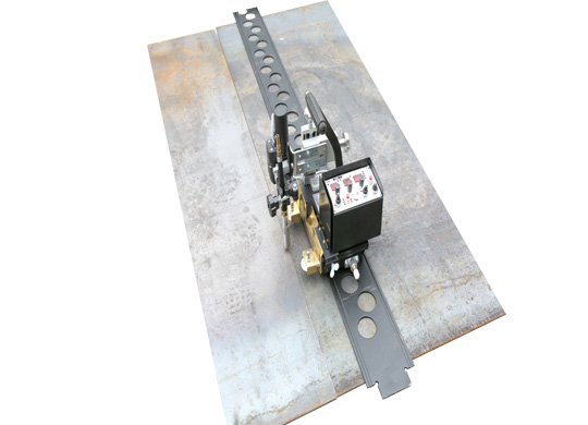 HK-5BW-D Oscillating Intennittent/Continuous Welding Carriage (flat rail type)
