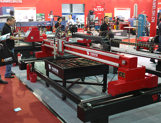Small HNC-2500W Economical Light Gantry CNC Plasma & Oxy-Fuel Plate Cutting Machine image