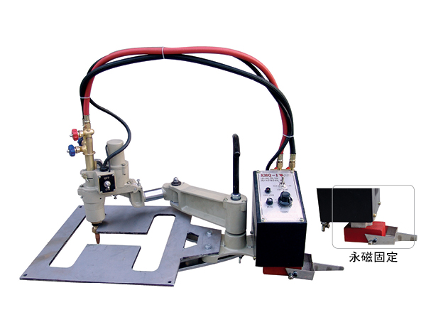 Small KMQ-1 Portable Profiling flame cutting machine image