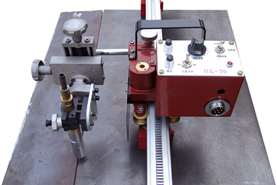 Small HK-20 Mini Compact Rail Welding Carriage image