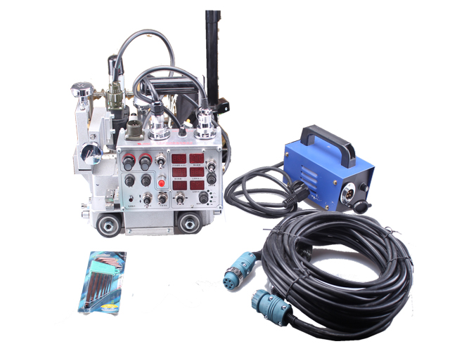 Small HK-5W Wel-Handy Semi-Automated Weaving Welding Tractor for Fillet Plate image